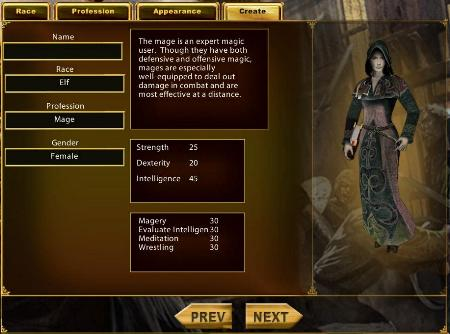 Funky Ultima Online Character Templates Picture Collection - Resume ...