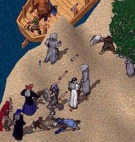 Pirates of Darkness Raid the Island