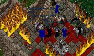 The burning Spire