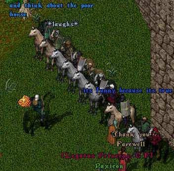 The army gathering in Spiritwood