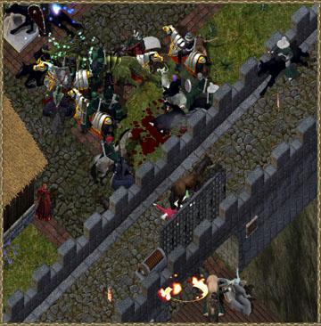 Courtyard Skirmish