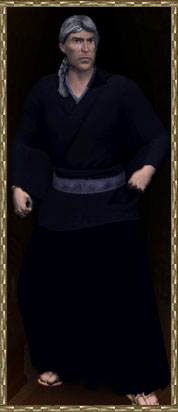 Bunshichi, representative of the Empire of Tokuno