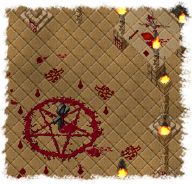 Daemon Temple ritual site.