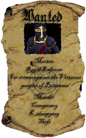 Wanted! Enforcer Morton.