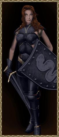 Lady Dawn, Queen of Britannia.