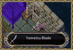 Yometsu Blade in Casca's Chamber