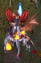 Platinum vs Crimson dragons.