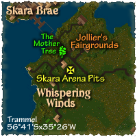 Map to Britain Counselor's Guild (West)