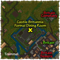 Castle Britannia Formal Dining Room