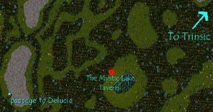 Screen Shot of OverHead Map of Establishment's Location.