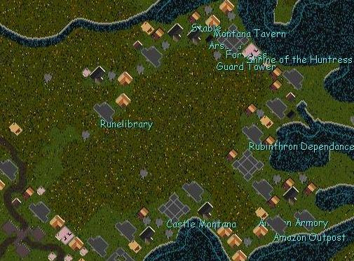 Map of Silverbow.