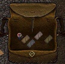 Backpack with tailor tools