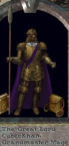 Gold plate armour
